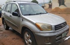 Toyota Rav4 2002 Silver for sale