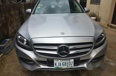 Clean Mercedes-Benz C180 2015 Silver For Sale