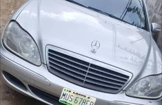 Mercedes-Benz S500 2005 Silver for sale