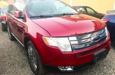 Ford Edge Limited 2010 Red for sale