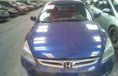 Clean Honda Accord 2005 Blue for sale