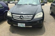 Mercedes Benz ML 2007 Black for sale