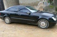 Mercedes Benz E320 2004 Black for sale
