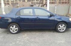 Toyota Corolla 2004 Blue for sale