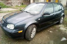Tokunbo Volkswagen Golf4 2001 Gray for sale