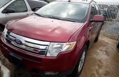 Ford Edge SEL 2007 Wine for sale