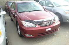Red Toyota Camry 2004 for sale
