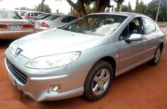 Clean Peugeot 407 2008 Silver for sale