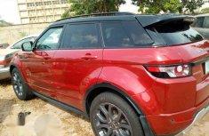 Land Rover Range Rover Evogue 2013 Red