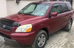 Clean Honda Pilot 2005 Red for sale