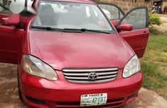 Clean Toyota Corolla 2004 Red