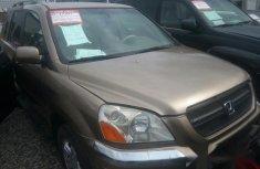 Honda Pilot 2003 Gold for sale