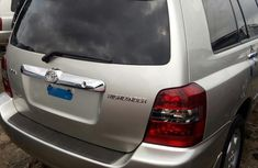 Toyota Highlander 2005 Silver for sale