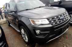 Ford Explorer 2016 Gray for sale