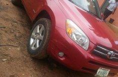 Clean Nigerian Used Toyota Rav4 2005 Red
