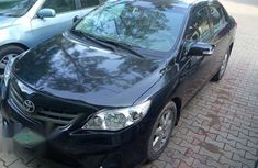 Toyota Corolla 2012 Black for sale