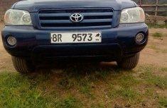 Clean Toyota Highlander 2005 Blue For Sale