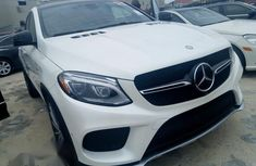 Mercedes-benz GLE 450 2016 White for sale