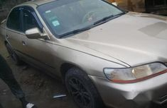 Honda Accord 2002 Gold for sale