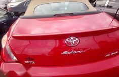 Nigeria Used Toyota Solara 2006 Red