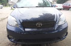 Clean Toyota Matrix 2006 Blue for sale