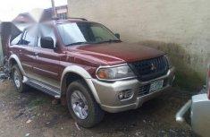 Registered Mitsubishi Montero 2001 Red for sale