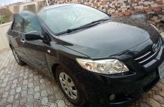 Toyota Corolla 2010 Black for sale