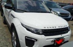 Clean Range Rover Evoque 2016 White for sale