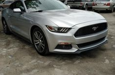Ford Mustang 2016 Silver for sale