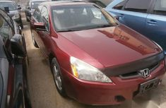 Fantastic Honda Accord 2005 Red for sale