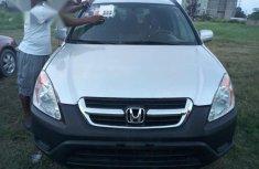 Honda CR-V 2004 Silver for sale