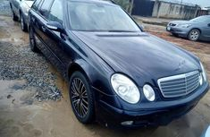 Mercedes Benz E240 2005 Blue for sale