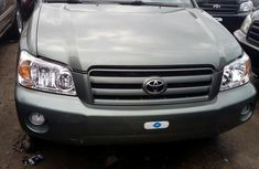 Toyota Highlander 2005 Green for sale