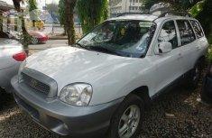 Hyundai Santa Fe 2004 White for sale