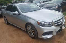 Mercedes-benz E350 2013 Silver for sale