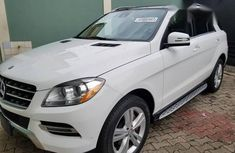 Mercedez Benz ML350 2014 White for sale