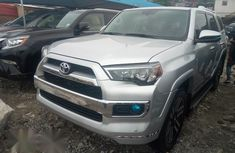 Toyota 4runner 2016 Silver for sale