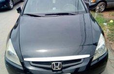 Honda Accord 2004 Black for sale