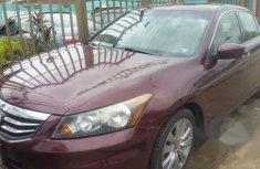 Nigerian Used Honda Accord 2012 Red