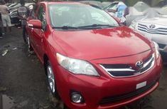 Toyota Corolla 2011 Red for sale