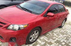 Neat Toyota Corolla Sport 2011 Red