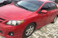 Clean Registered Toyota Corolla 2011 Red