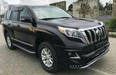 Clean Tokunbo Toyota Land Cruiser Prado 2017 Black