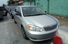 Toyota Corolla Saloon 2005 Silver for sale