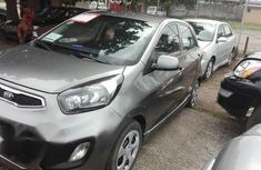 Kia Picanto 2013 Gray for sale