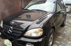 Mercedes-Benz M Class ML350 2003 Black for sale