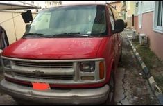 Chevrolet Astro 2002 Red for sale