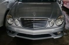 Mercedes-benz E350 2009 Silver for sale