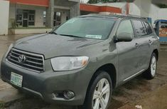 Registered Toyota Highlander 2008 Gray for sale