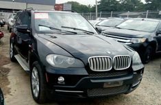 Clean BMW X5 2008 Black for sale